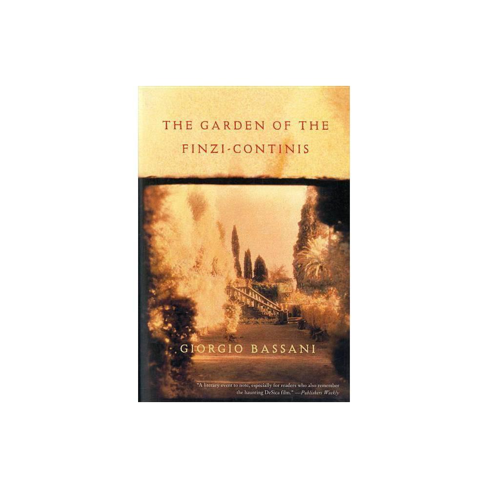 The Garden Of Finzi Continis Harvest Hbj Book By Giorgio Bassani Paperback