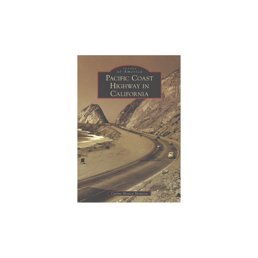 Pacific Coast Highway in California - by Carina Monica Montoya (Paperback)
