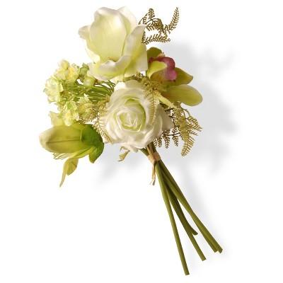 "13"" Artificial Magnolia Flower Bundle - National Tree Company"