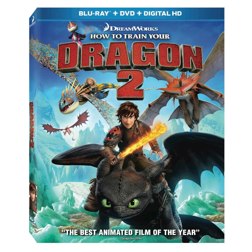 How to Train Your Dragon 2 (Blu-ray/Dvd) (Includes Digital Copy)