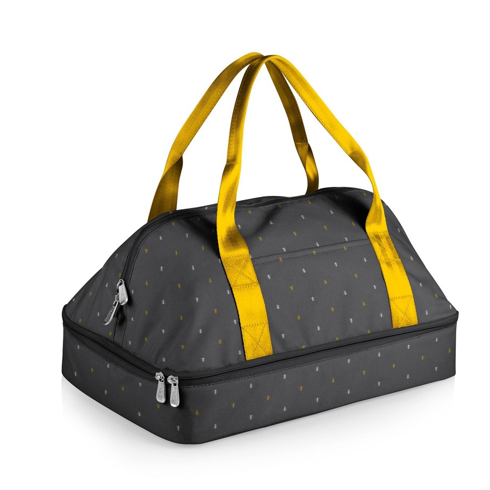 Picnic Time Potluck Casserole Tote Anthology Collection Gray Gold