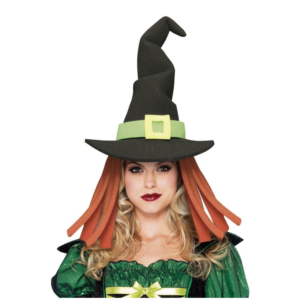 Image of Women's Witch Halloween Hat Black