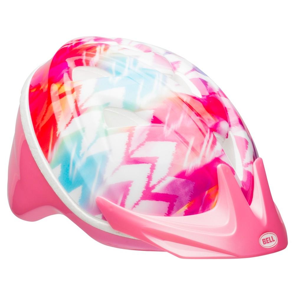 Bell Sports Infant Helmet - Pink/Purple Zig Zag Print