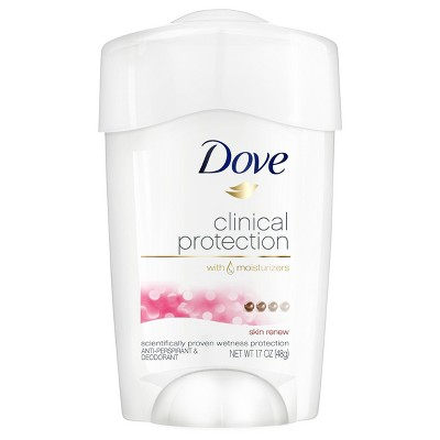 Dove Clinical Protection Clear Tone Antiperspirant Deodorant - 1.7oz