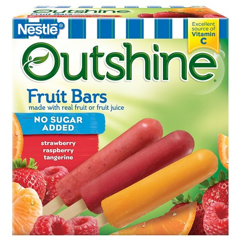 Outshine Strawberry, Raspberry, Tangerine Fruit Bar - 12ct - image 1 of 6