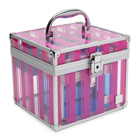 Caboodles Prima Donna Acrylic Cosmetic Case - Pink - image 1 of 4