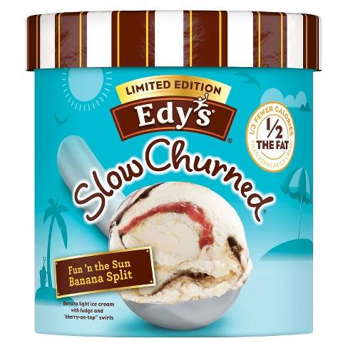 Edy's® Limited Edition Banana Split Ice Cream - 1.5qt - image 1 of 1