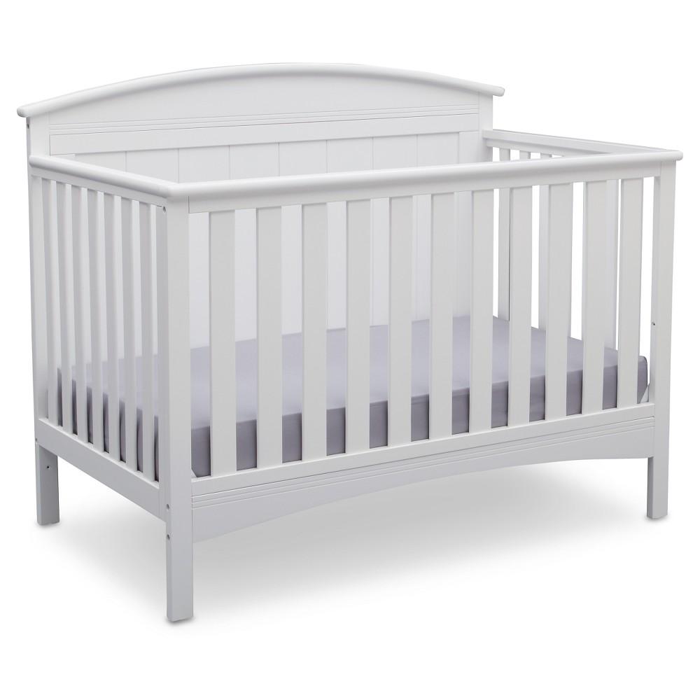 Image of Delta Children Archer 4-in-1 Standard Full-Sized Crib - Bianca