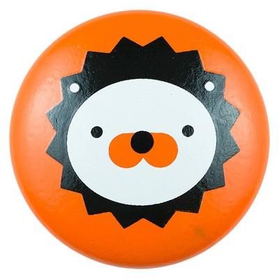 Sumner Street Home Hardware 4pc Lion Painted Knob Orange
