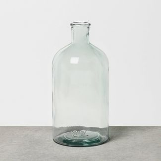Large Clear Glass Vase - Hearth & Hand™ with Magnolia