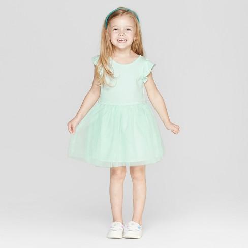 8380eeb4d95 Toddler Girls  Tutu Dress - Cat   Jack™ Mint   Target