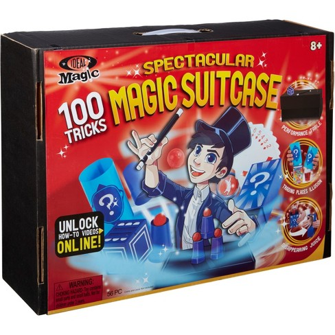 Ideal 100-Trick Spectacular Magic Show Suitcase - image 1 of 9