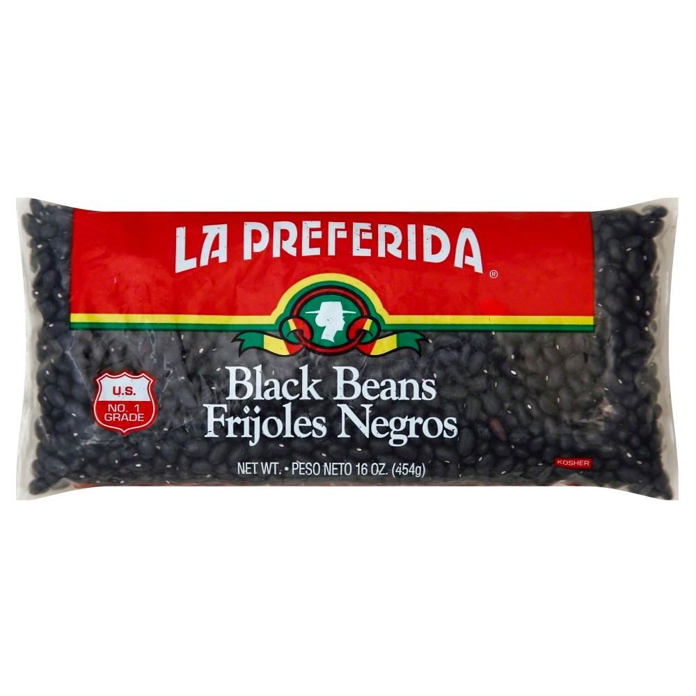 La Preferida Black Beans 16oz