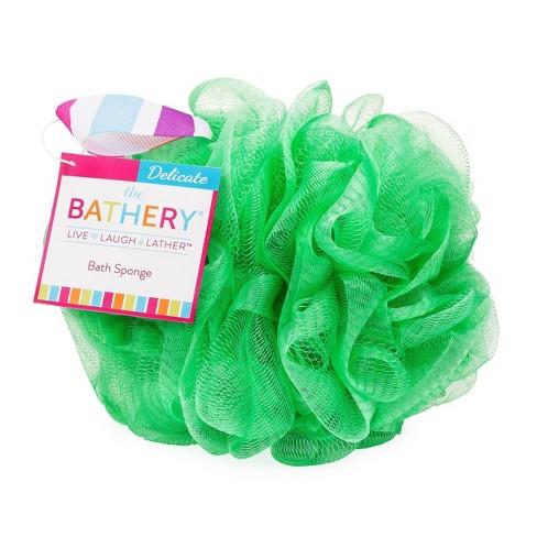 The Bathery Delicate Bath Sponge - Green - image 1 of 3