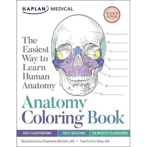 Anatomy Coloring Book - 7 Edition by Stephanie McCann & Eric Wise  (Paperback)