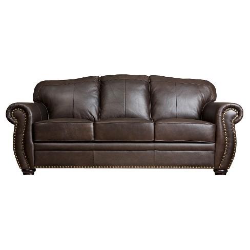 Marlow Leather Sofa Abbyson Living