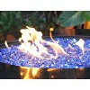 Reflective Fire Pit Fire Glass - North Blue - AZ Patio Heaters - image 3 of 3