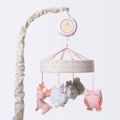 Crib Mobile Forest Frolic - Cloud Island™ - Pink