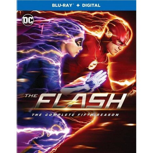 The Flash: The Complete Fifth Season (Blu-Ray + Digital) - image 1 of 1