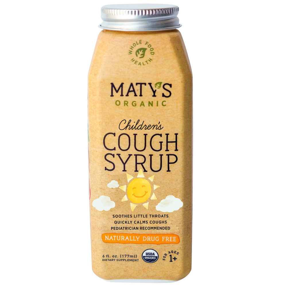 Maty's Children's Organic Cough Syrup - 6 fl oz