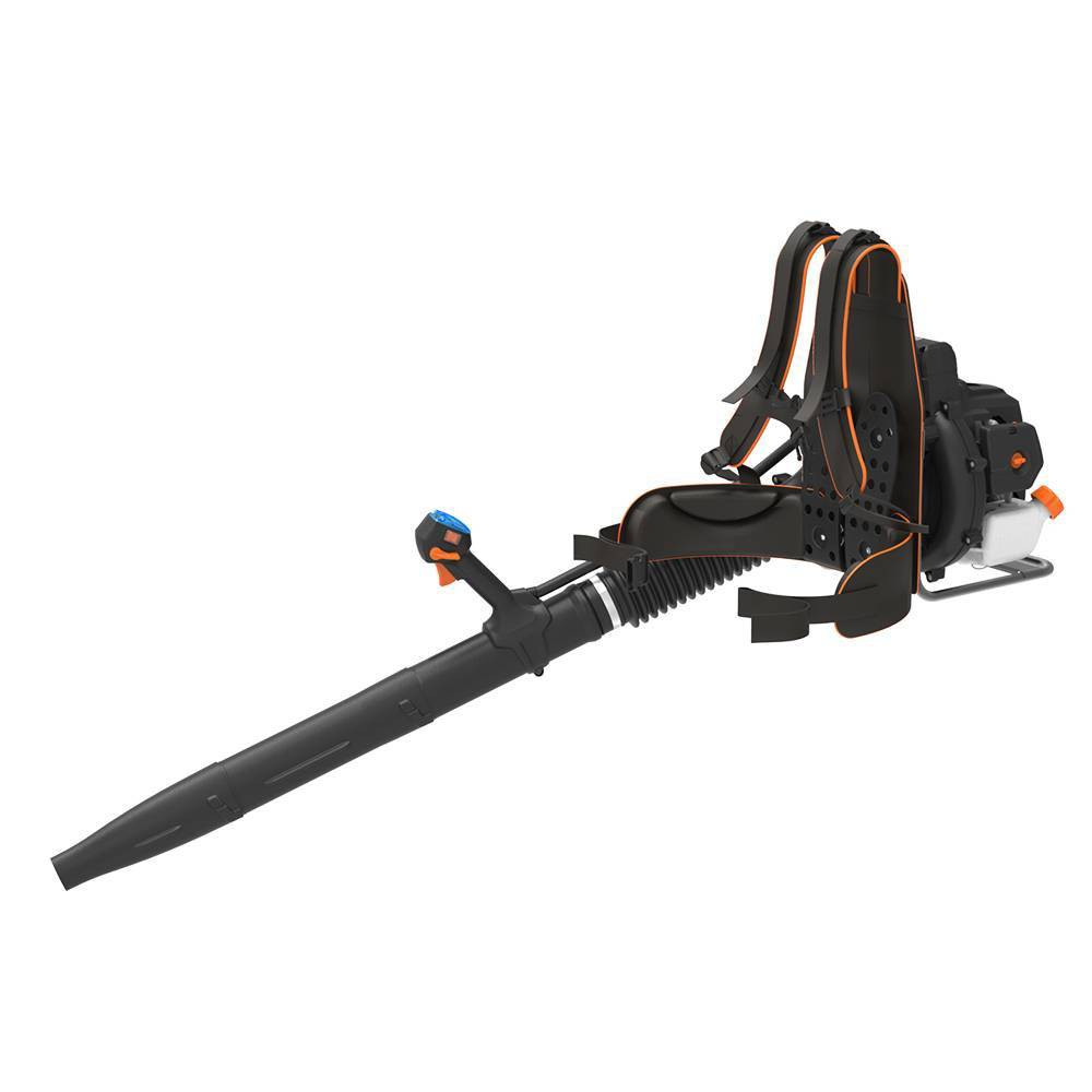 Image of 2 - Cycle 31Cc Back Pack Leaf Blower, Black Orange