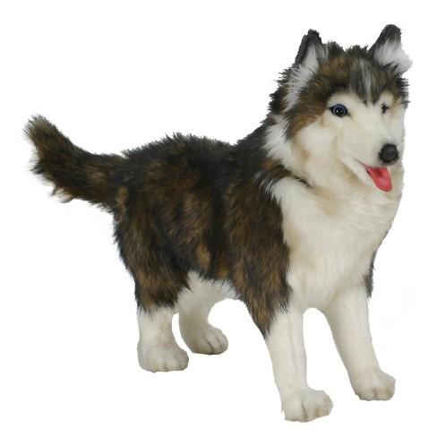 Hansa Husky Dog Plush Toy Target