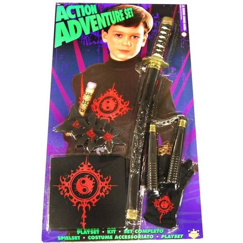 Rubie's Action Adventure Ninja Blister Child Costume Set - image 1 of 1