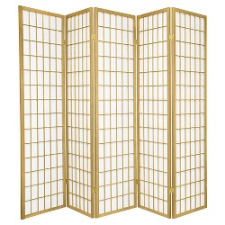 6 ft. Tall Window Pane - Special Edition - Gold (5 Panels)