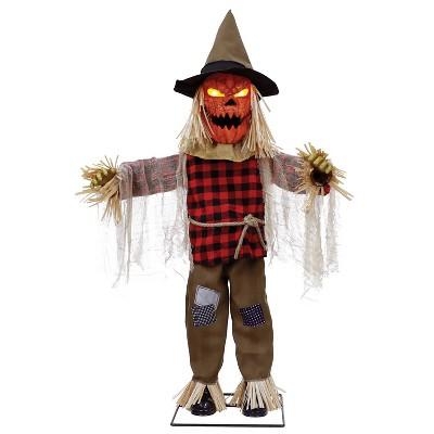 "36"" Animated Twitching Scarecrow Halloween Decorative Prop"