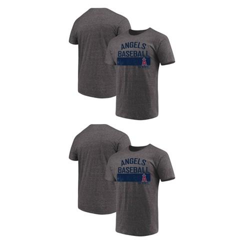 pretty nice 6db31 ceb96 Los Angeles Angels Men's Neutralize Gray Triblend T-Shirt - S