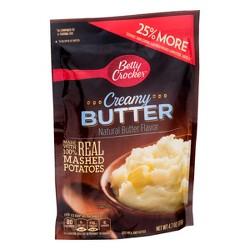 Betty Crocker Mashed Potato Homestyle Creamy Butter Pouch 4.7 oz