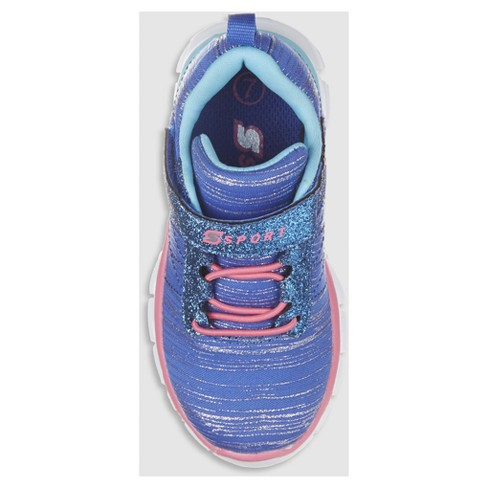 f15fb09706b5c0 Toddler Girls' S Sport By Skechers Footle Performance Athletic Shoes - Blue