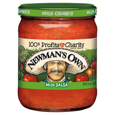 Newman's Own® Salsa Mild Chunky 16 oz - image 1 of 1