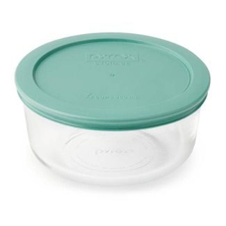 Pyrex 4cup Round Food Storage Container Green