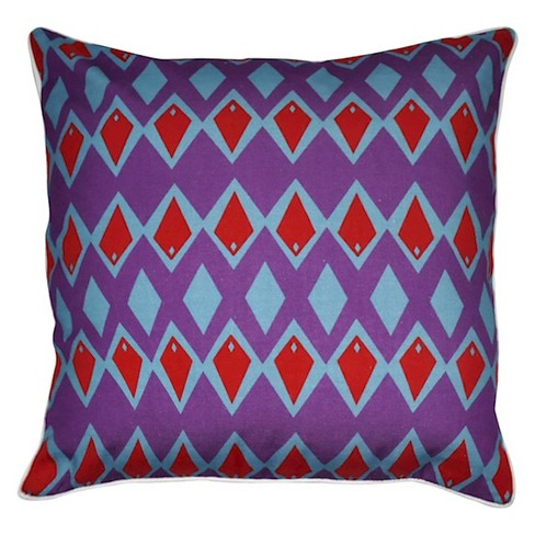 Diamond Throw Pillow - Loom and Mill - image 1 of 2