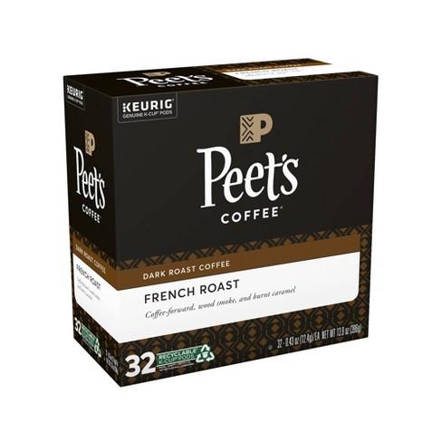 Peet's Coffee French Roast Dark Roast Coffee - Keurig K-Cup Pods - 32ct - image 1 of 4