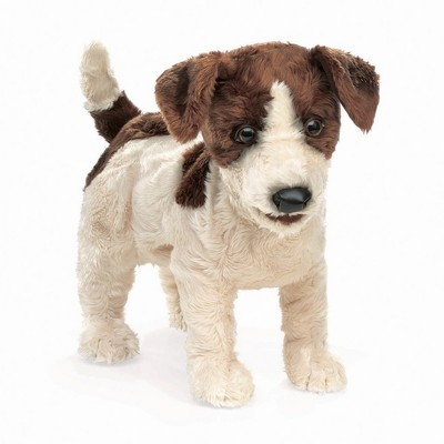 Folkmanis Jack Russell Terrier Hand Puppet