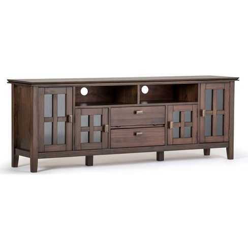 "Artisan Wide TV Media Stand 72"" - Simpli Home - image 1 of 7"