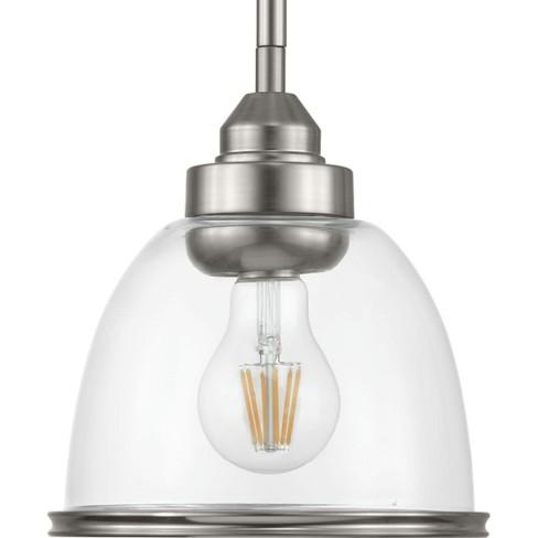 "Progress Lighting P500137 Saluda Single Light 7"" Wide Mini Pendant - image 1 of 1"