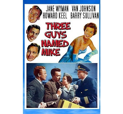 Three Guys Named Mike (DVD) - image 1 of 1
