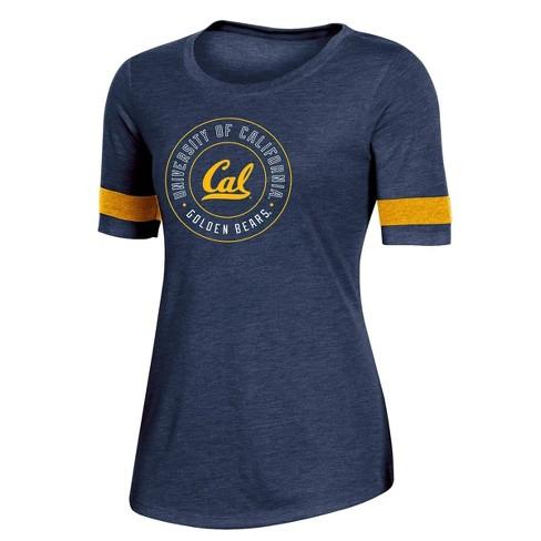 NCAA Cal Golden Bears Women's Short Sleeve Crew Neck T-Shirt - image 1 of 2