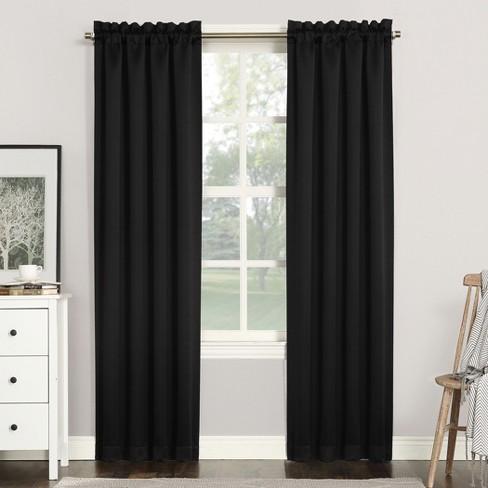 Sun Zero Kenneth Blackout Rod Pocket Curtain Panel - image 1 of 5