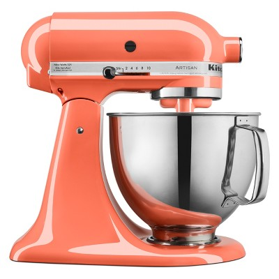 KitchenAid 5qt Artisan Tilt-Head Stand Mixer Bird of Paradise - KSM150PSPH