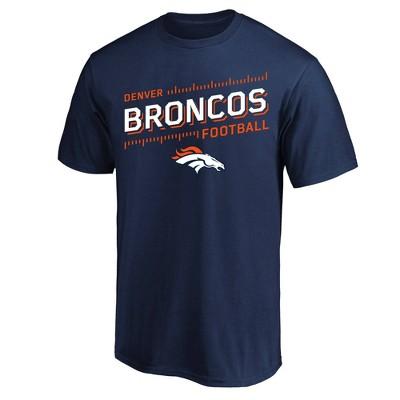 NFL Denver Broncos Men's Short Sleeve Big & Tall T-Shirt
