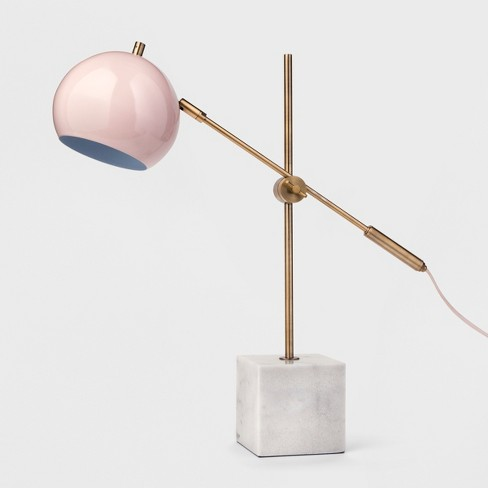 Table Lamp With Marble Base Pink Project 62 Target