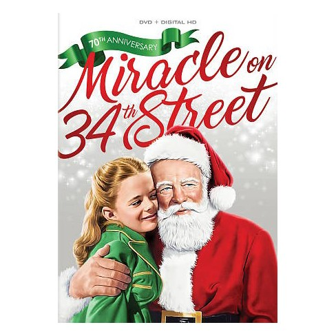 Miracle On 34th Street: 70th Anniversary (DVD) - image 1 of 1