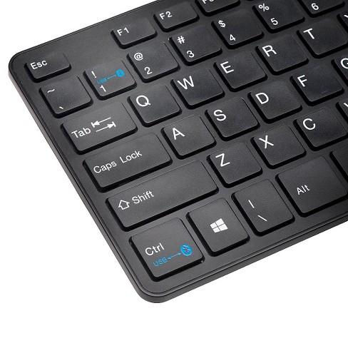 10dfad0b11d Kensington KP400 Switchable Bluetooth Keyboard - Black (YU7287) : Target