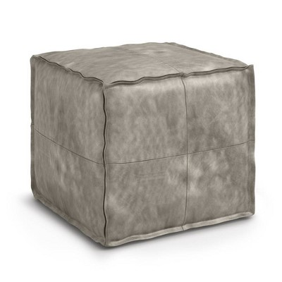Wendal Square Pouf - WyndenHall