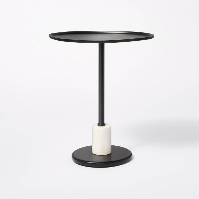 Fielding Pedestal Accent Table - Threshold™ designed with Studio McGee