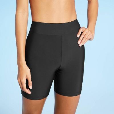Women's Classic Swim Shorts - Sea Angel Black